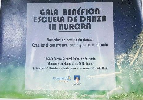 EL PROXIMO DIA 3 DE MARZO EN EL CENTRO CULTURAL ISABEL DE FARNESIO (ARANJUEZ)